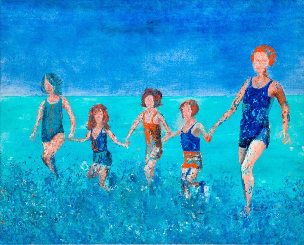 Beach-Time_2009_100x80cm_Kleiner-